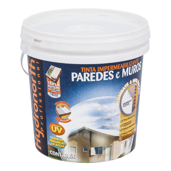 Tinta impermeabilizante paredes e muros 3 6l palha - Impermeabilizante para paredes ...
