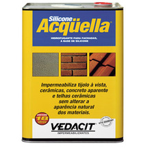 Tinta Impermeabilizante Telhado Acquella 18L Incolor Vedacit