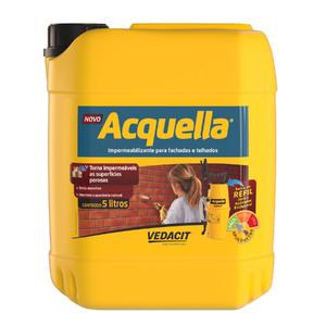 Tinta Impermeabilizante Telhado Acquella Bombona 5L Vedacit