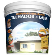 Tinta Impermeabilizante Telhados e Lajes 16Kg Concreto Hydronorth