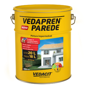 Tinta Impermeabilizante Vedapren Parede Gêlo Balde 20L