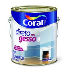Tinta Latéx Direto Gesso Branco Fosco Lata 3,6L