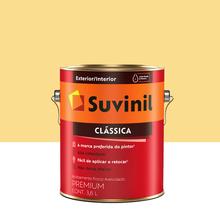 Tinta Látex Fosco a Clássica Maxx Premium Amarela Canário 3,6L Suvinil