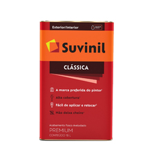 Tinta Látex Fosco a Clássica Maxx Premium Branco Neve 18L Suvinil
