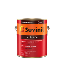 Tinta Látex Fosco a Clássica Maxx Premium Branco Neve 3,6L Suvinil