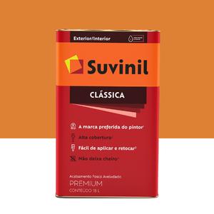 Tinta Látex Fosco a Clássica Maxx Premium Tangerina 18L Suvinil