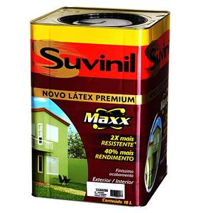 Tinta Látex PVA Fosca Aveludada Premium Maxx Suvinil 18L Azul Mar