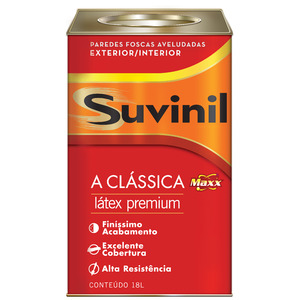 Tinta Látex PVA Fosca Aveludada Premium Maxx Suvinil 18L Verde