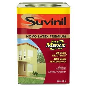 Tinta Látex PVA Fosco Premium Maxx Suvinil 18L Chá Verde