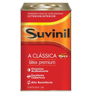 Tinta Látex PVA Fosco Premium Maxx Suvinil 18L Vanila