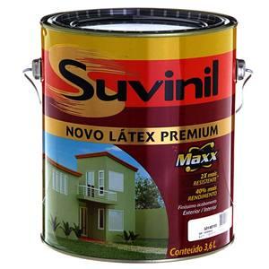 Tinta Latex PVA Fosco Premium Maxx Suvinil 3,6L Chá Verde