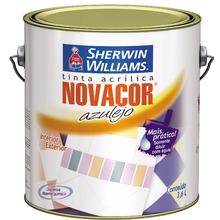 Tinta para Azulejos Acetinado Standard Novacor Azulejo Branco Gelo 3,60 L Sherwin Williams