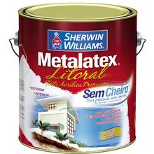 Tinta para Litoral Acetinado Premium Metalatex Amarelo Garopaba 3,60 L Sherwin Williams