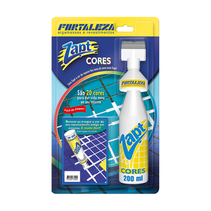 Tinta para Rejunte Zapt Azul 200ml Fortaleza
