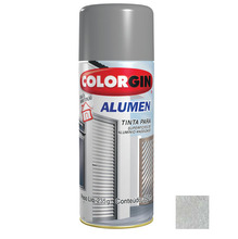 Tinta Spray Alumen Colorgin Alumínio 350ml