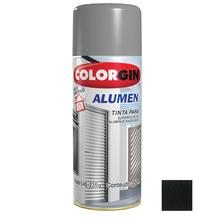 Tinta Spray Alumen Colorgin Preto 350ml