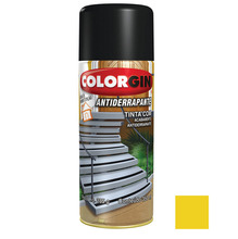 Tinta Spray Antiderrapante Colorgin Amarelo 350ml