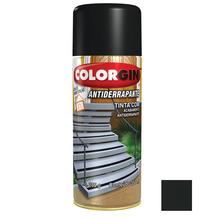 Tinta Spray Antiderrapante Colorgin Preto 350ml