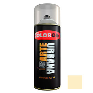 Tinta Spray Arte Urbana Fosco Algodão 400ml Colorgin