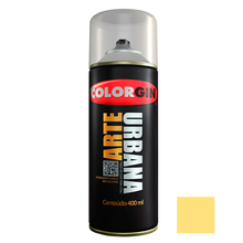 Tinta Spray Arte Urbana Fosco Amarelo Canário 400ml Colorgin