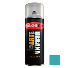 Tinta Spray Arte Urbana Fosco Aquário 400ml Colorgin