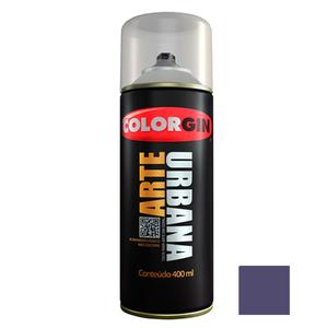Tinta Spray Arte Urbana Fosco Azul Mackenzie 400ml Colorgin