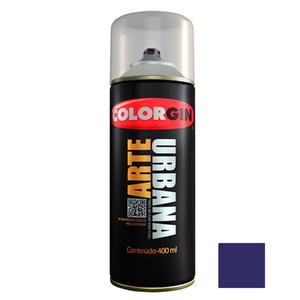 Tinta Spray Arte Urbana Fosco Azul Netuno 400ml Colorgin