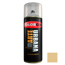 Tinta Spray Arte Urbana Fosco Bambu 400ml Colorgin