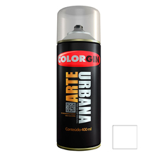 Tinta Spray Arte Urbana Fosco Branco 400ml Colorgin