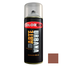 Tinta Spray Arte Urbana Fosco Cacau 400ml Colorgin