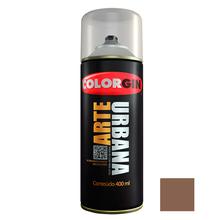 Tinta Spray Arte Urbana Fosco Canela 400ml Colorgin