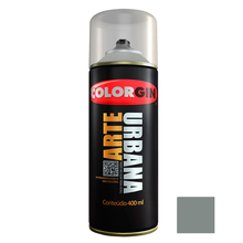 Tinta Spray Arte Urbana Fosco Cinza Carrara 400ml Colorgin