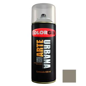 Tinta Spray Arte Urbana Fosco Concreto 400ml Colorgin