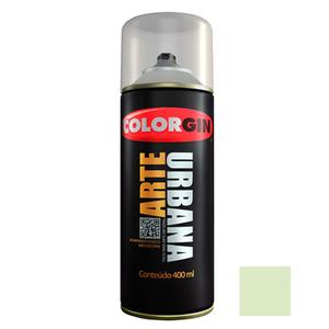Tinta Spray Arte Urbana Fosco Erva Doce 400ml Colorgin