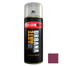 Tinta Spray Arte Urbana Fosco Framboesa 400ml Colorgin