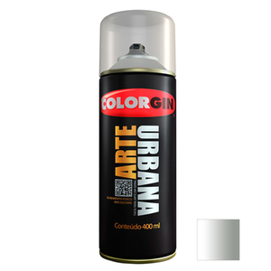 Tinta Spray Arte Urbana Fosco Fumê 400ml Colorgin