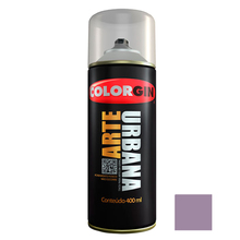 Tinta Spray Arte Urbana Fosco Lilás 400ml Colorgin