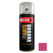Tinta Spray Arte Urbana Fosco Magenta 400ml Colorgin