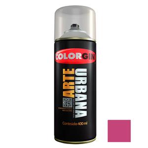 Tinta Spray Arte Urbana Fosco Magenta 400ml Colorgin