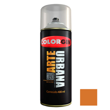 Tinta Spray Arte Urbana Fosco Mamão 400ml Colorgin