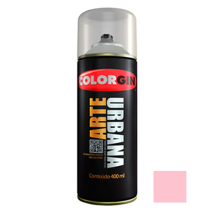 Tinta Spray Arte Urbana Fosco Rosa Biscuit 400ml Colorgin