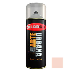 Tinta Spray Arte Urbana Fosco Rosa Blush 400ml Colorgin