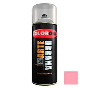 Tinta Spray Arte Urbana Fosco Rosa Chiclete 400ml Colorgin