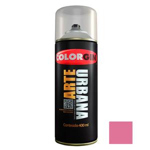 Tinta Spray Arte Urbana Fosco Rosa Lírio 400ml Colorgin