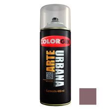 Tinta Spray Arte Urbana Fosco Roxo 400ml Colorgin