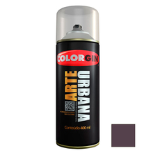 Tinta Spray Arte Urbana Fosco Roxo Beterraba 400ml Colorgin