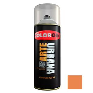 Tinta Spray Arte Urbana Fosco Tangerina 400ml Colorgin