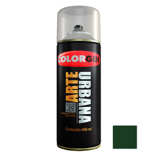 Tinta Spray Arte Urbana Fosco Verde Amazonas 400ml Colorgin