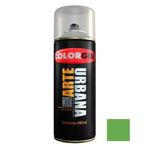 Tinta Spray Arte Urbana Fosco Verde Ervilha 400ml Colorgin