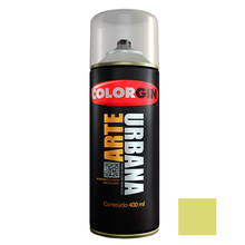 Tinta Spray Arte Urbana Fosco Verde Lima 400ml Colorgin